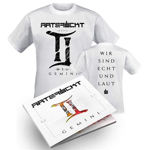 Artefuckt - Gemini, Bundle T-Shirt + CD